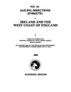 Ireland and the West Coast of England, 11th Ed 2009