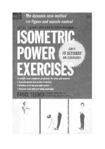 Isometric Power Exercises-Tegner