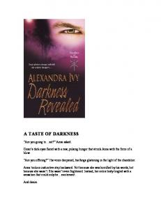 Ivy, Alexandra - Guardians of Eternity 04 - Darkness Revealed