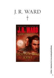 J R Ward Bractwo Czarnego Sztyletu 06 Dziedzictwo Krwi