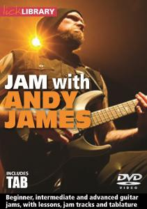 Jam With Andy James Tab Book