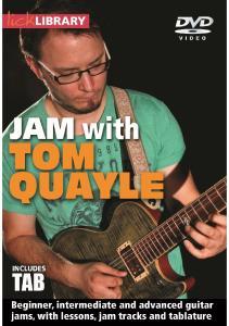 Jam With Tom Quayle Tab Book