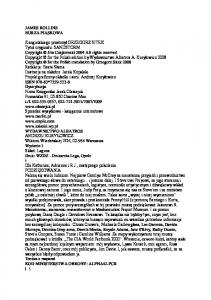 James Rollins Sigma 01 Burza piaskowa