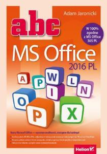 Jaronicki A. - ABC MS Office 2016 PL