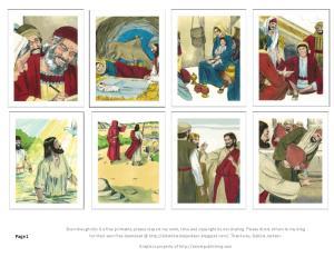 Jesus trading cards