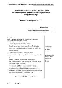 jezyk angielski - sp - test