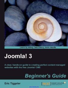 Joomla! 3 Beginners Guide
