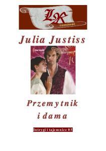 Justiss Julia - Przemytnik i dama