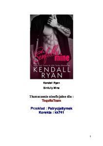 Kendall Ryan - 2 - Sinfully Mine PL