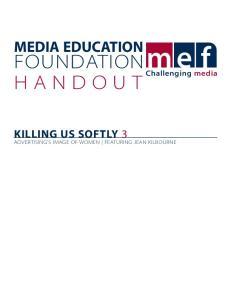 Killing us Softly KUS3handout