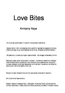 Kimberly Raye - Love Bites