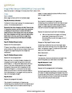 Kings of War Errata & FAQ 1.4