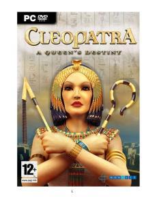 Kleopatra droga do tronu - solucja poradnik