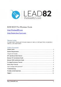 Kon Boot how to install guide