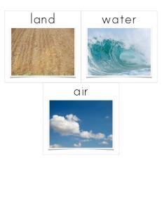 Land, Water, Air
