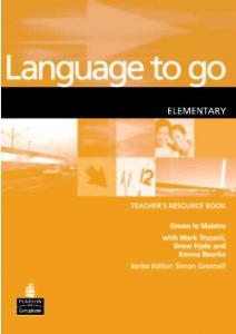 LANGUAGE TO GO Elementary Teachers Book