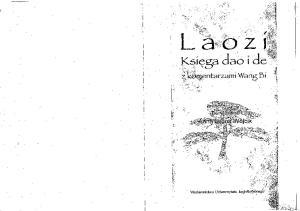 Laozi. Ksiega dao i de