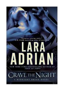 Lara Adrian - 12 - Crave the Night