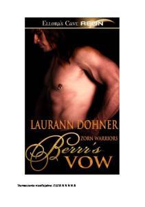 Laurann Dohner - Berrrs Vow (PL) (+18)