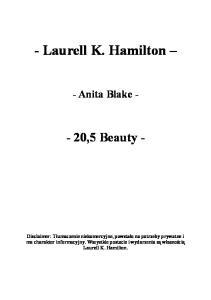 Laurell K. Hamilton - 20,5 - Beauty
