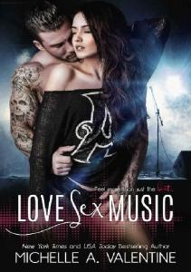 Love Sex Music - Michelle A Valentine