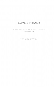 Loves Prayer - Melissa Storm