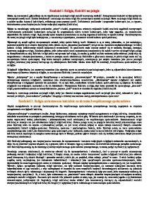 Luckman Thomas - Niewidzialna religia notatki opracowanie