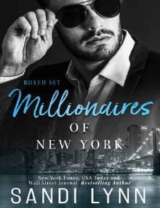 Lynn Sandi - Millionaires of New York BOX SET -