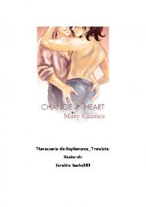 Mary Calmes - Change of Heart 01 - Change of Heart (nieof.)