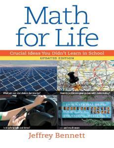 Math for Life Crucial Ideas