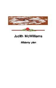 McWilliams Judith Misterny plan