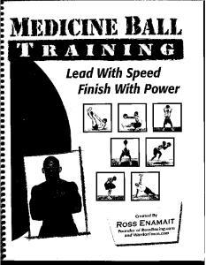 Medicine Ball Training-Enamait
