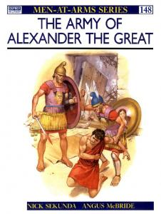 Men At Arms 148 - Army Of Alexander The Great (The)