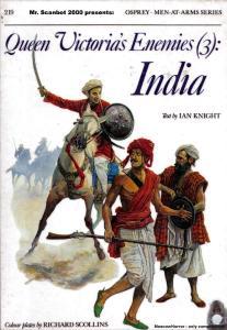Men At Arms 219 - Queen Victorias Enemies (3) India[Osprey Maa219]