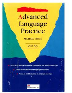 Michael Vince - Advanced Language Practice
