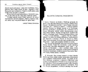 Michel Foucault - Szaleństwo, literatura, społeczeństwo