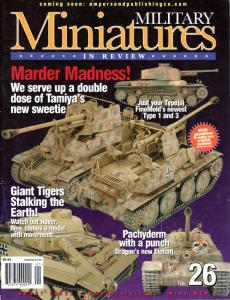 Military Miniatures in Review 26 (Vol.7 No.1, 2001)