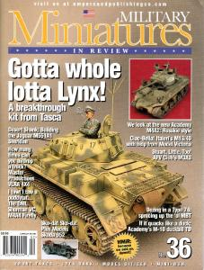 Military Miniatures in Review 36 (2004 March)