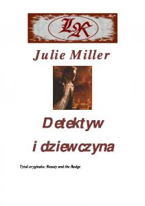Miller Julie - Detektyw i dziewczyna
