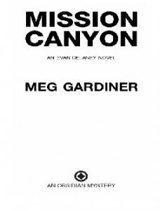 Mission Canyon - Meg Gardiner