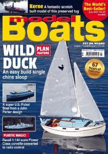 Model Boats Vol 67 No 800 - Juillet 2017