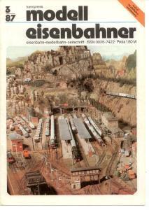 Modelleisenbahner 1987-03