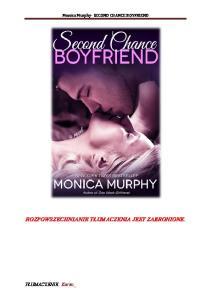 Monica Murphy Chance Boyfriend