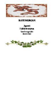 Morgan Raye - Agent i dziewczyna