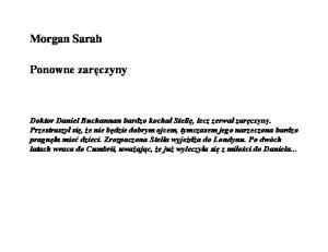 Morgan Sarah Ponowne zareczyny (2)