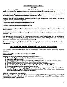 Motec Beginners Guide 02-April-05