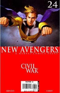 New Avengers 24 - Civil War