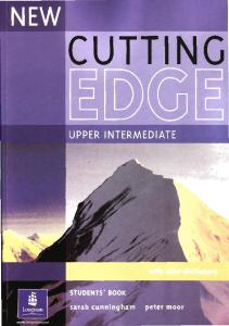 New Cutting Edge Upper Intermediate Students Book
