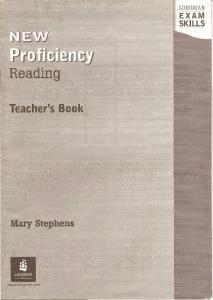 New Proficiency Reading Teacher s Book