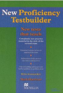New Proficiency Testbuilder with key